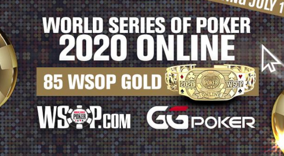 WSOP and GGPoker official partnership and announcement of 85 bracelet events.