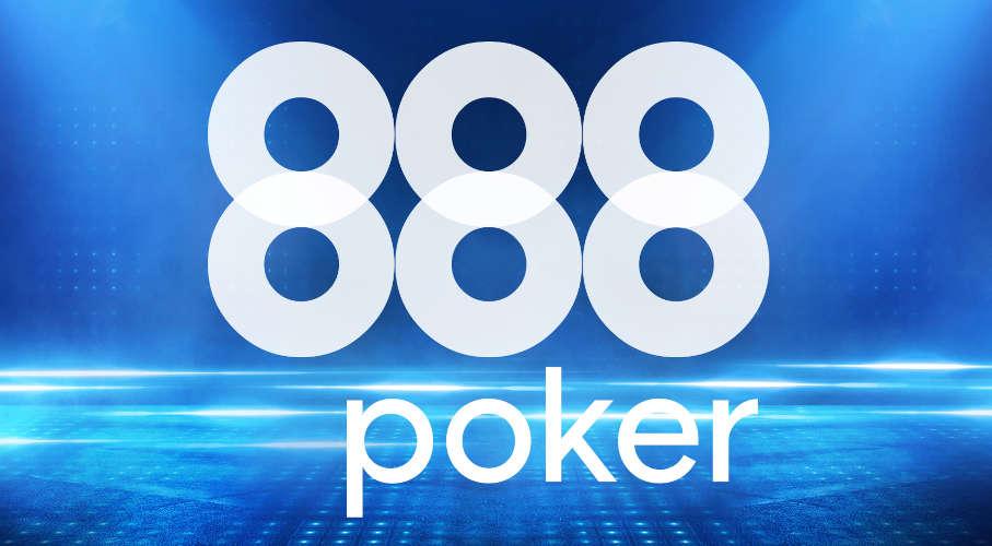 888poker's official platform and brand logo