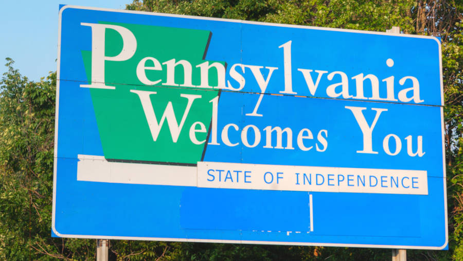 pennsylvania-road-welcome-sign