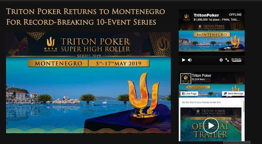 Bigger and Better Triton Poker Event Headed to Montenegro