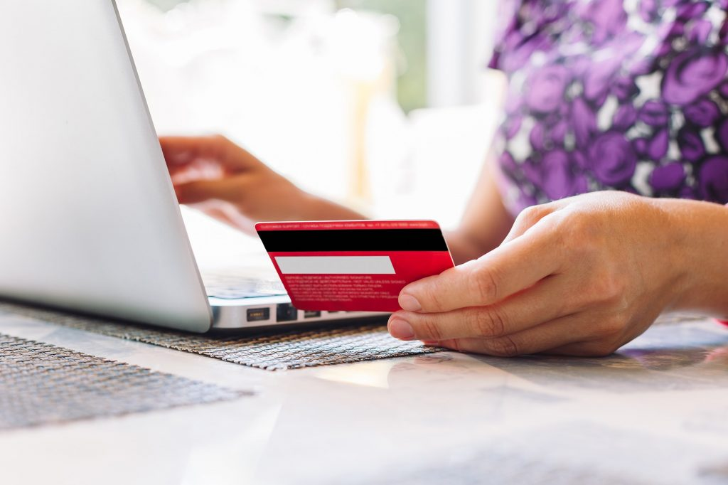 MasterCard online payment.