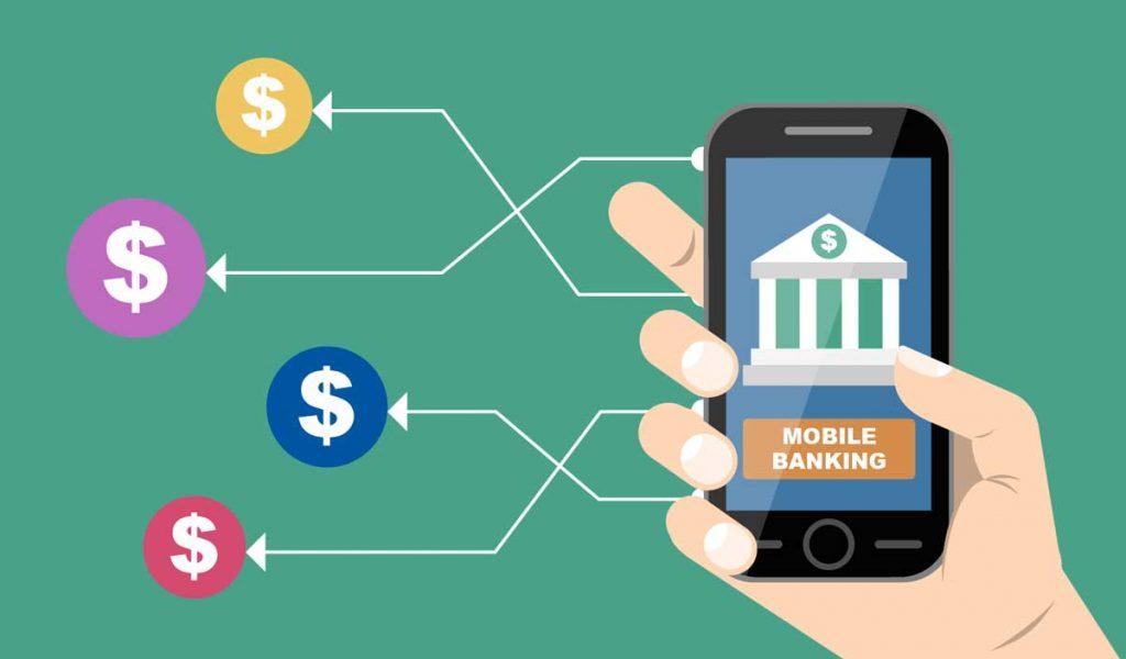 Mobile banking demo.