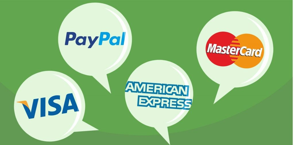 Top payment services.